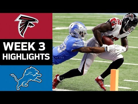 Video: Falcons vs. Lions | NFL Week 3 Game Highlights