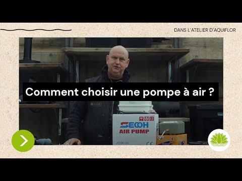 N°3 : Comment choisir une pompe à air pour mon étang ? / Conseils de Nicolas d'Aquiflor
