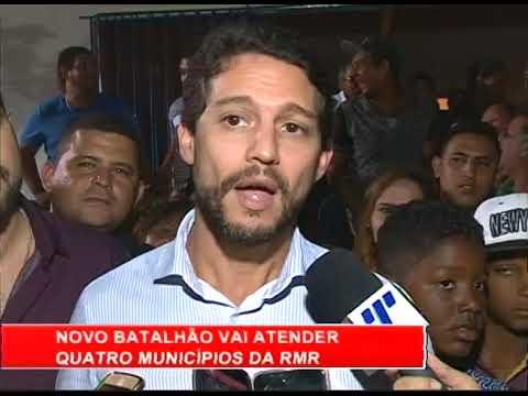[RONDA GERAL]  Novo batalhão da PM vai atender quatro municípios da RMR