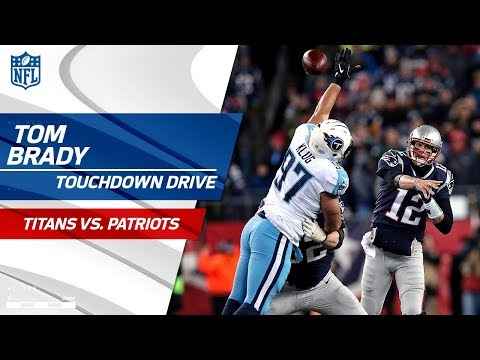 Video: New England Drives for Another TD to Extend Lead! | Titans vs. Patriots | NFL Divisional Round HLs