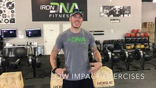 <h5>Low Impact Exercises with Doug Freeman</h5>