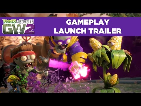 Plants vs. Zombies Garden Warfare 2 – HD Launch Gameplay Trailer