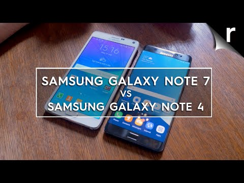 Samsung Galaxy Note 7 vs Note 4: What's changed?