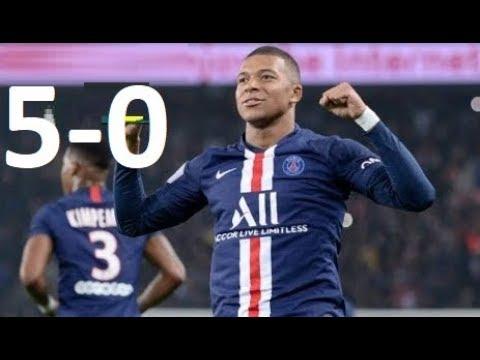 PSG Vs Montpellier 5-0 Ligue 1 01/02/2020
