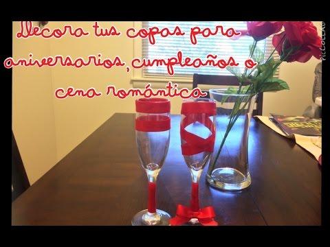 decora tus copas muy facil para aniversarios o cualquier ocasion