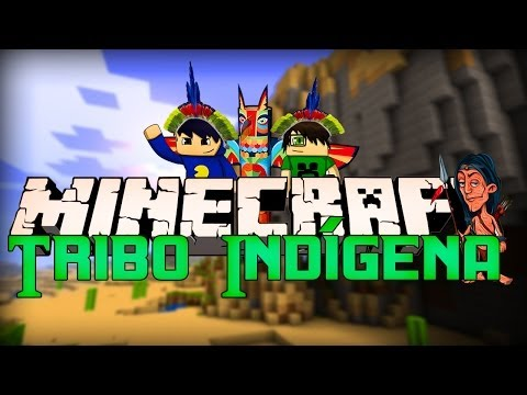 Minecraft: TRIBO INDÍGENA (Survival Games)