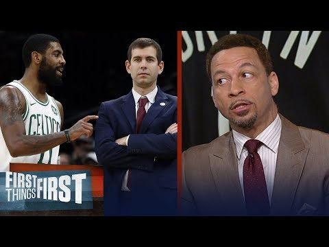 Kyrie Irving doesn't deserve all the blame for Celtics season — Broussard | NBA | FIRST THINGS FIRST