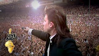 Video U2 - Bad (Live Aid 1985) MP3, 3GP, MP4, WEBM, AVI, FLV Februari 2019