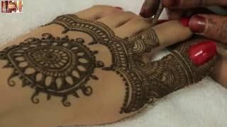 Easy Beautiful Traditional Heena Mehandi Design For Feet:Learn...