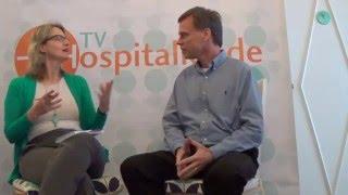 Thomas Eckschmidt da ResolvJá é entrevistado por Beatriz Cullen ( IBHE)