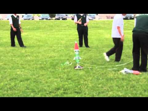 Water Bottle Rocket with Parachute Landing - Innovians Technologies