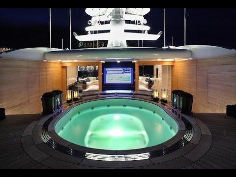 lo yacht più costoso al mondo - interni ed esterni