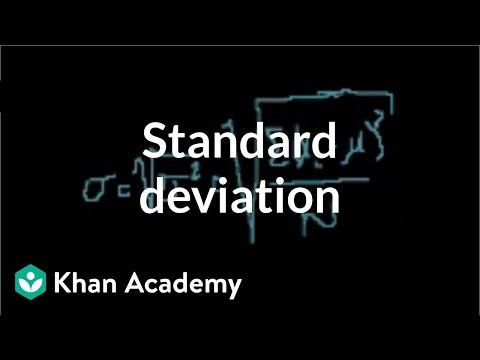 Statistics: Standard deviation | Descriptive statistics | Probability and Statistics | Khan Academy