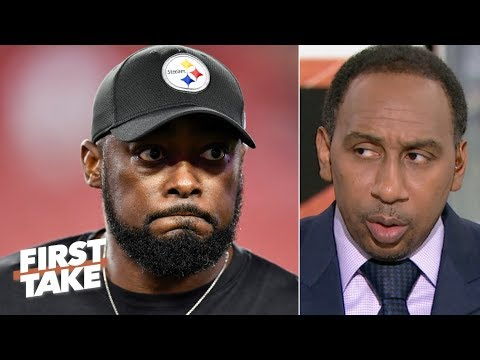 Video: Stephen A. calls out Mike Tomlin: Steelers fans crave a 'Steel Curtain' resurgence | First Take