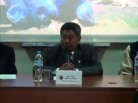 PDTE. REGIONAL INVOC�  TOMAR CONCIENCIA Y PARTICIPAR DE FORMA ACTIVA EN SIMULACRO  DE SISMO NOCTURNO