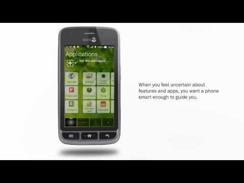 Doro Liberto 820 Mini - Teléfono Móvil Táctil -Blanco-