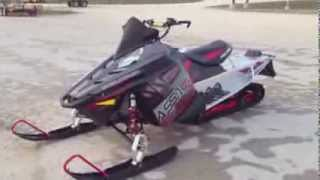 8. 2014 Polaris Assault 144 Limited Edition