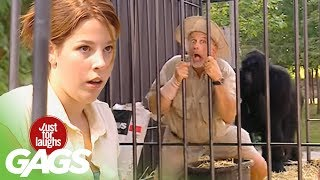 Trapped With Gorilla Prank