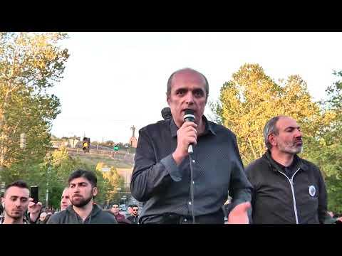 Լևոն Բարսեղյանը կոչ է անում «Ելք»-ի մյուս կուսակցություններին գալ Ֆրանսիայի հրապարակ - DomaVideo.Ru