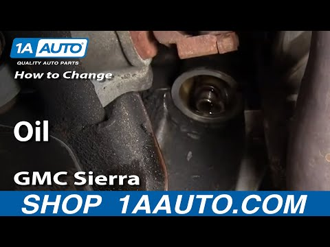 How To Change Oil Chevy Silverado GMC Sierra 2500HD 6.0L 00-06 – 1AAuto.com