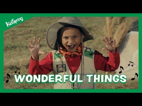 Wonderful Things   Preschool Worship Song