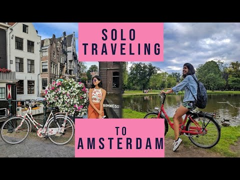 Download Indian Girl Backpacking in Europe: Amsterdam | Sejal Kumar HD Mp4 3GP Video and MP3
