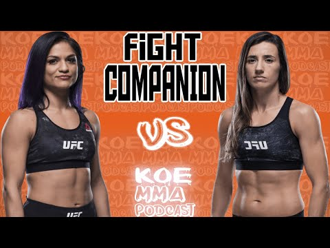 UFC on ESPN 7  Fight Companion - Cynthia Calvillo x Marina Rodriguez