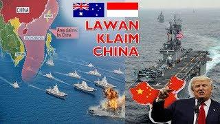 Video GAK BERANI SENDIRI AMERIKA Desak INDONESIA & AUSTRALIA Lawan CHINA Lepaskan KLAIM Laut Cina Selatan MP3, 3GP, MP4, WEBM, AVI, FLV Mei 2019