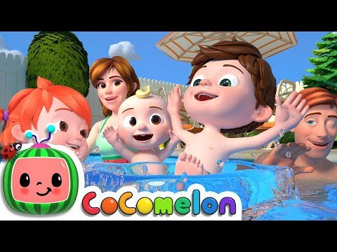 Swimming Song | CoCoMelon Nursery Rhymes & Kids Songs
