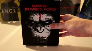 Nonton Unboxing Dawn of the planet of the apes Blu ray Steelbook HMV Film Subtitle Indonesia Streaming Movie Download