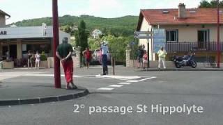 Chatel-Guyon France  City pictures : Route de france féminine 2009 - Arrivée à Chatel-Guyon