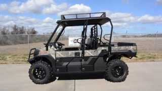 3. 2015 Kawasaki Mule Pro FXT Camo with Top, Windshield, Bumpers, 28