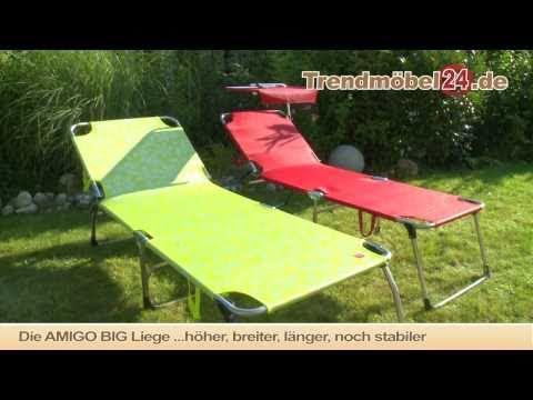 Sonnenliege Gartenliege Dreibeinliege Amigo von Jan Kurtz