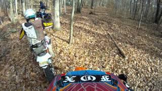 10. Following Jay on KTM 450 w/ Rekluse