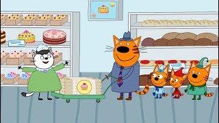 Три кота | У папы на работе | Серия 75 | Мультфильмы для детей