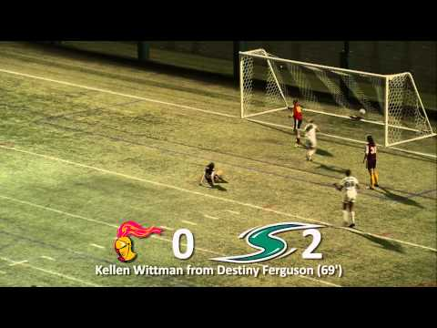 Women's Soccer Highlights: Stevenson vs. Alvernia 10-24-14