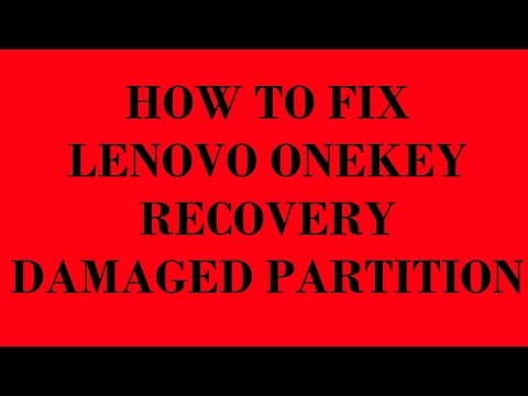 , title : 'How to Fix Lenovo OneKey Recovery Damaged Partition'