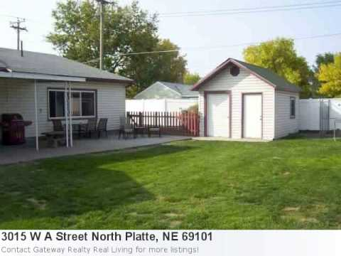 17558 - Impressive Home Now Listed In North Platte Property Details For: 3015 W A Street North Platte, NE 69101Type: ResidentialPrice: $123000 Bedrooms: 3 Baths: 2....