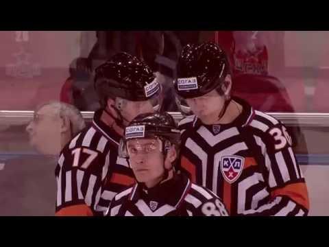 Боевой листок КХЛ: драки первой части сезона / KHL Fighting Issue No.1 (видео)