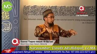 Video Live Barusan 13 April 2018 - Trenyuh Khutbah Jum'at Sambil Menetes Air Mata - Ustadz Adi Hidayat MP3, 3GP, MP4, WEBM, AVI, FLV Juni 2018