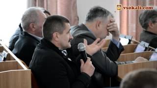 ХVІ сесії Сокальської районної ради ч.3 | Запитання депутатів до О.Пелиха