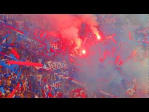 Video - Salida U de Chile v/s Godoy Cruz Mendoza HD - Los de Abajo - Universidad de Chile - La U - Chile