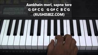 Tujhe dekha to ye jana sanam Piano Notes - VIDEO TUTORIALS