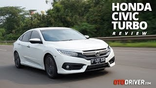 Video Honda Civic Turbo 2016 Review Indonesia | OtoDriver MP3, 3GP, MP4, WEBM, AVI, FLV Oktober 2017