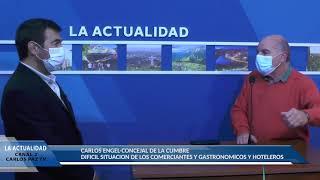 VIDEO CON NOTA AL FUNCIONARIO MUNICIPAL: NOTA AL PRESIDENTE DE LA EMOSS HUGO GRIGNETTI