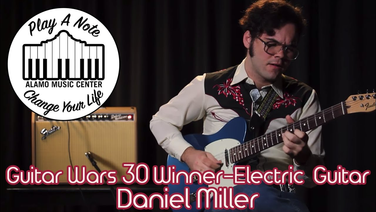Guitar Wars 30 Winner-Electric Guitar Category-Daniel Miller in Discussion with Chris McKee