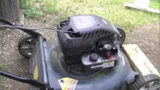 HOW TO Adjust The Engine Speed On A Briggs Quattro Lawn Mower Engine