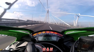9. Kawasaki Ninja ZX10R - Top speed