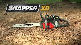 10. 82-Volt Lithium Ion Cordless Chainsaw   Snapper