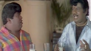 Senthil, Goundamani Comedy - Murai Maman Tamil Movie - Loose Motion Scene